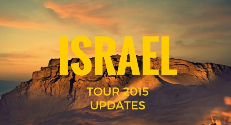 Israel tour 2015 post