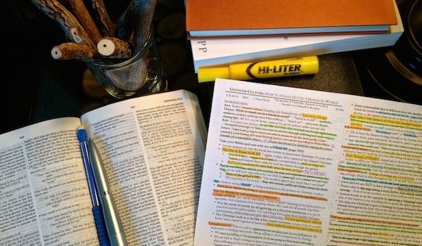 How I Write My Study Notes for My Sermon Prep - Josh Weidmann