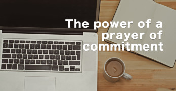 prayer commitment