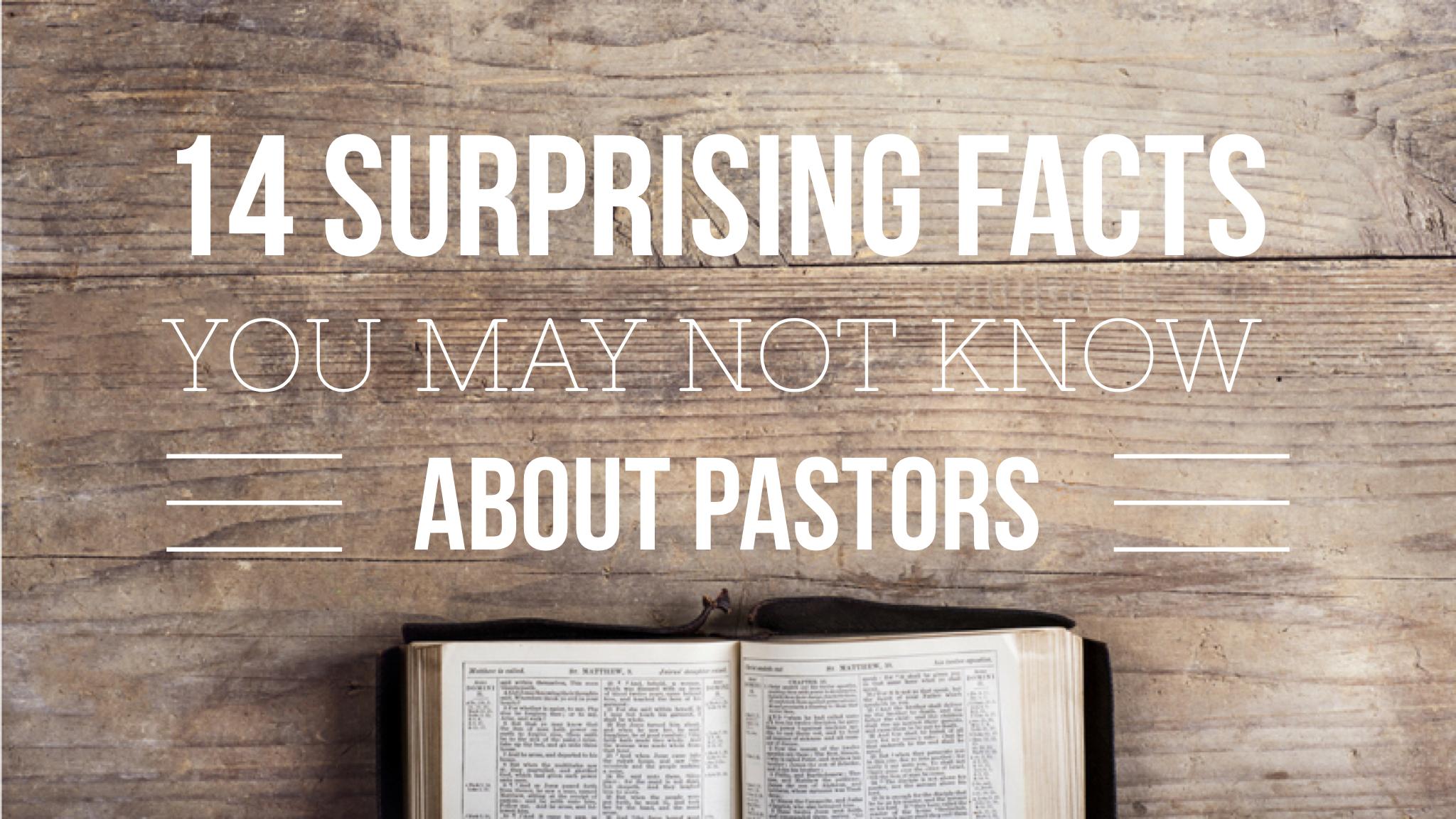 surprising facts about pastors